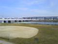 東武線堀切駅下車 荒川河畔