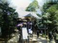 石神井氷川神社参拝