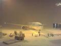 ソウル大雪のため空港で足止め
