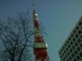 東京タワー(*^O^*)初!!!