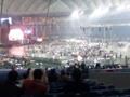 入場完了。初の東京ドーム入場は新日本プロレス観戦なう