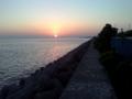さらに夕陽