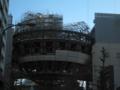 建造中の名古屋市科学館の謎の球体をパチリ #photo