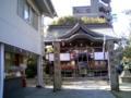 産土神社へ参拝です。今年は仕事 なにがなんでもがんばるぞぉ。