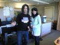 KBS京都にて、伊舞なおみさんの番組、収録。彼女、過去の彼氏に「