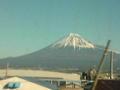 富士山もきれいに見えてます