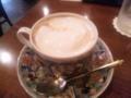 中延駅前商店街の珈琲中延さんでバニラコーヒーで、一服。バニラフレ