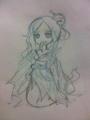 落書き。マリア姫様。。・゜・(ノ∀`)・゜・。