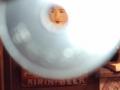 世界初。50円玉の穴から撮った携帯画像。