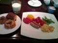今朝の食事です。今日も1日元気の元。