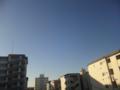 今の空@三鷹市