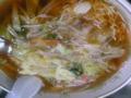 鎌倉とうきゅう前「あしなや」の『サンマー麺』ちう。ここのは、味が