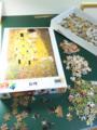 ジグソーパズル始めた クリムトの絵が好き!