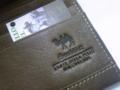 駱駝財布の内側