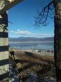 諏訪湖なう