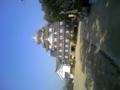 岡山城観光ナウ。新しそうに見えるのは気のせい?