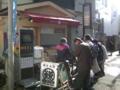 鎌倉小町通りの釜飯屋、かまかま、行列だったのであきらめた。 初釜