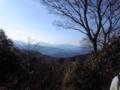 高尾山頂なう、ではないな、さっき。既に下山中。。今日は富士山がく