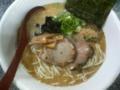 ぼの@相模大野。塩とんこつ(細麺)、替玉(太麺) 。