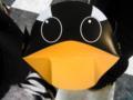 ペンギンサンバイザーなるものをもらっちゃった(笑)かわゆす