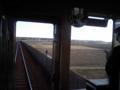 田んぼばっかりのところに高架で線路を引いてる。そこにシビれる!