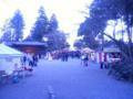 高麗神社なぅ。三が日ずらしが三連休にぶち当たる…