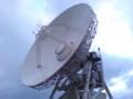 石垣島の電波望遠鏡。かっこいいー
