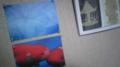 友達からの絵葉書ーーー蜷川実花の。金魚ちゅーの写真、せっかくだか