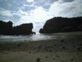 浜比嘉島にて。本当に気持ちが持っていかれそうになった。