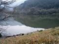 白木谷池。 畑貯水池の奥にある。静かだ。