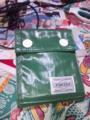 新しい財布買った!ほんとはもっといい色なのにナ