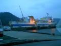 おはようごじゃいましゅ。三崎港なう。ねみー