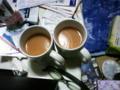 本日は残念ながら両方とも紅茶ですw