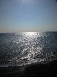 速すぎたので 三浦海岸で時間調整なう。風はそこそこ吹いているけど