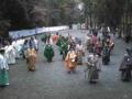 帰ろうと思ったらイベント発生、鎌倉時代から続く武家の儀式らしいで