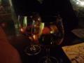 MLのK坂氏と道玄坂のチェント・アンニで一杯。 #nobu_gourmet