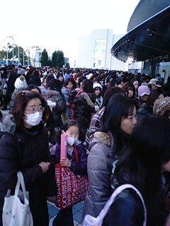 京セラドーム関ジャニ∞コンサート、バックステージ目の前席です。今