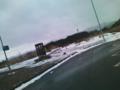磐越道!五百川は雪