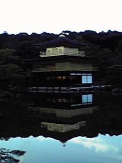 鹿苑寺なう。金閣。綺麗。