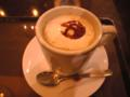 サンマルクカフェでカスタードカフェラテなう。