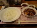 陳健一麻婆豆腐店なう。
