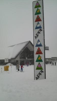 初・安比スキー場!パウダースノーで最高っす!