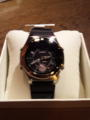 時計買ってもらた。初めての電波時計。