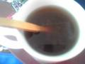 初・梅干し番茶