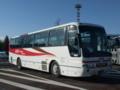 我らが搭乗している機体@中央道双葉SA  京王高速バス