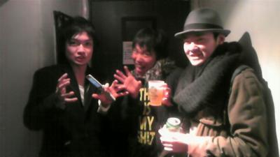 (左)イケメンジション(中央)歯が丈夫そうな人(右)昭和の男前@MARZ