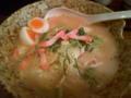 お昼ご飯を食べてきました。六本松にある、博多ちゃんぽんちょきで。