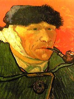 ゴッホさんはイーゼル使わないで描いてたことが多い… と噂。斜め下
