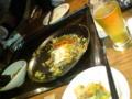渋谷でお好み焼きリーマン。