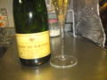 今日のスパークリングワイン クレマン ド ボルドー フォールド ローザ